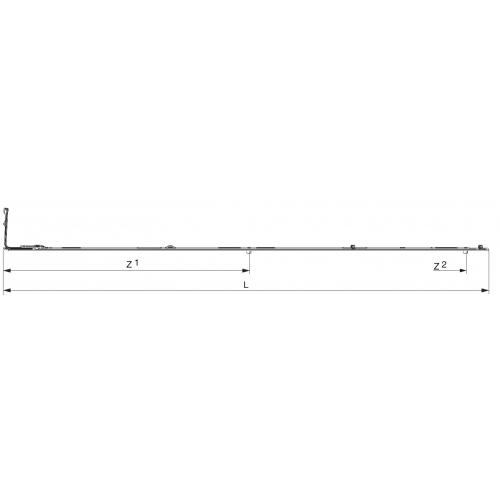 Запор средний MACO 1501-1850 52458