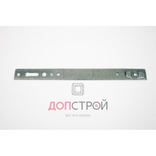 Анкерная пластина 190 мм 1,5 мм для окон VEKA 70, KBE 70, Proplex 70