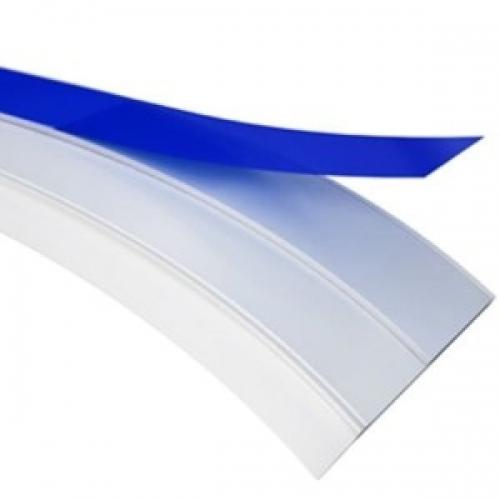Нащельник пластиковый ПВХ Белый самоклеющиеся. 40 мм х 50 метров