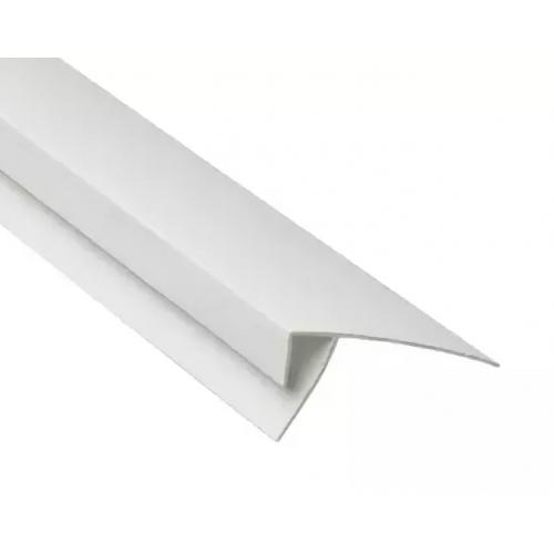 Финишный профиль F 57х17х24 Белый 3000мм