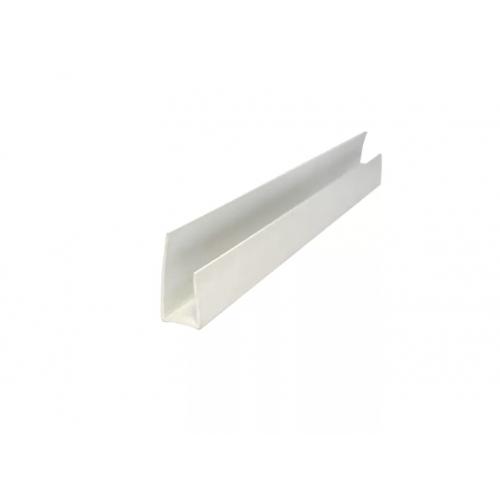 Стартовый профиль П 18х12х25 Белый 3000мм