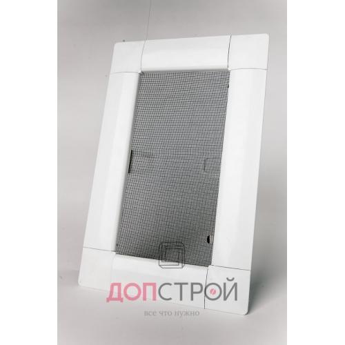 Москитная сетка LUX на флажках АнтиМошка Белая 1400х714 мм = 1 м. кв.