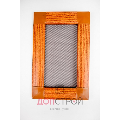 Москитная сетка LUX на флажках Золотой дуб 1400х714 мм = 1 м. кв.