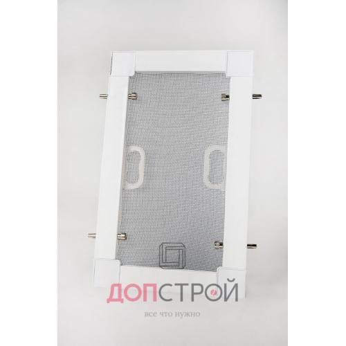 Москитная сетка 25 мм на Штоках АнтиМошка Белая 1400х714 мм = 1 м. кв.
