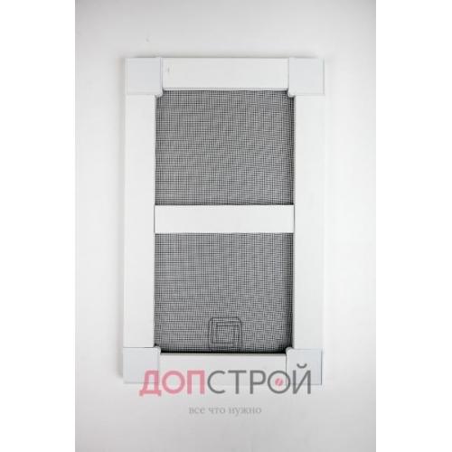 Москитная дверь Эконом 25 мм  Белая 1400х714 мм = 1 м. кв.