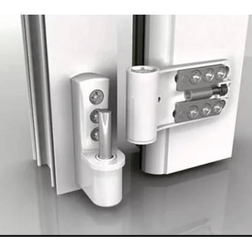 Регулировка пластиковой (ПВХ)  двери  и настройка фурнитуры