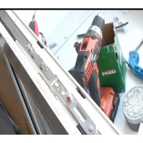 Ремонт фурнитуры окна без замены элементов
