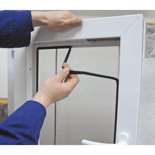 Замена уплотнителя в ПВХ окна